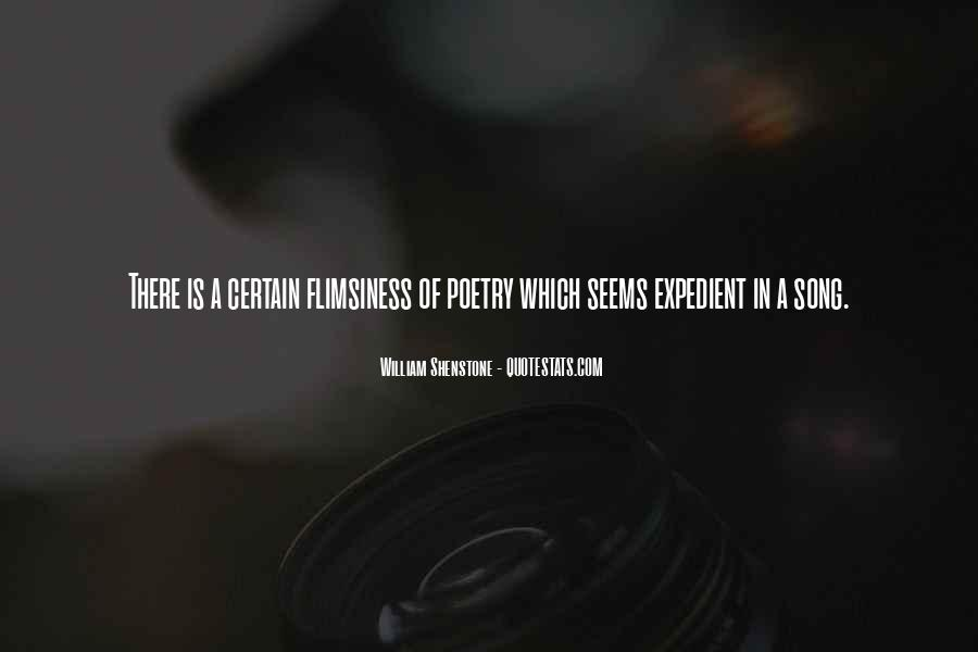 Flimsiness Quotes #246179