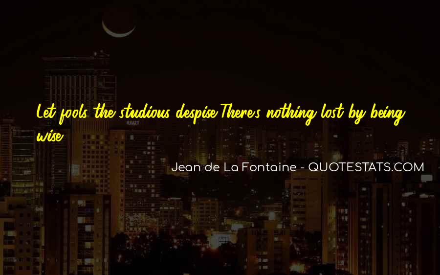 Fontaine's Quotes #2856