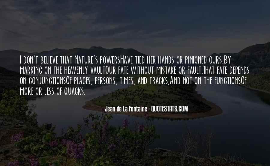 Fontaine's Quotes #717979