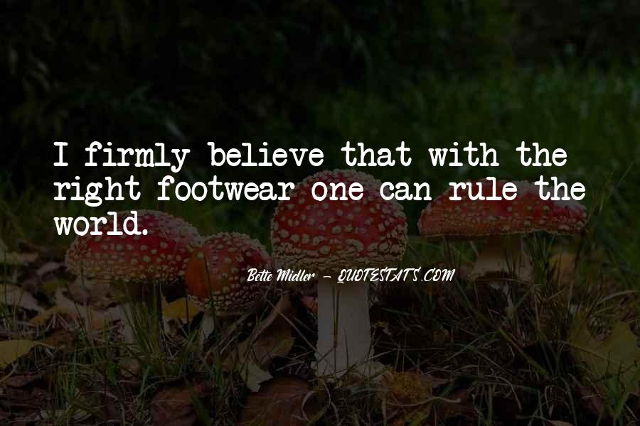 Footwear's Quotes #249873