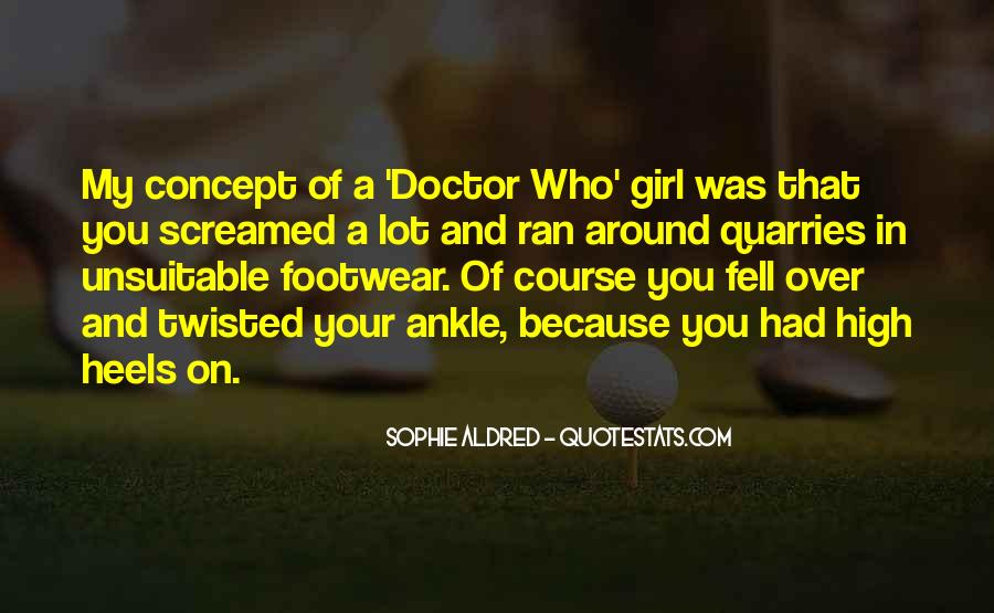 Footwear's Quotes #55714