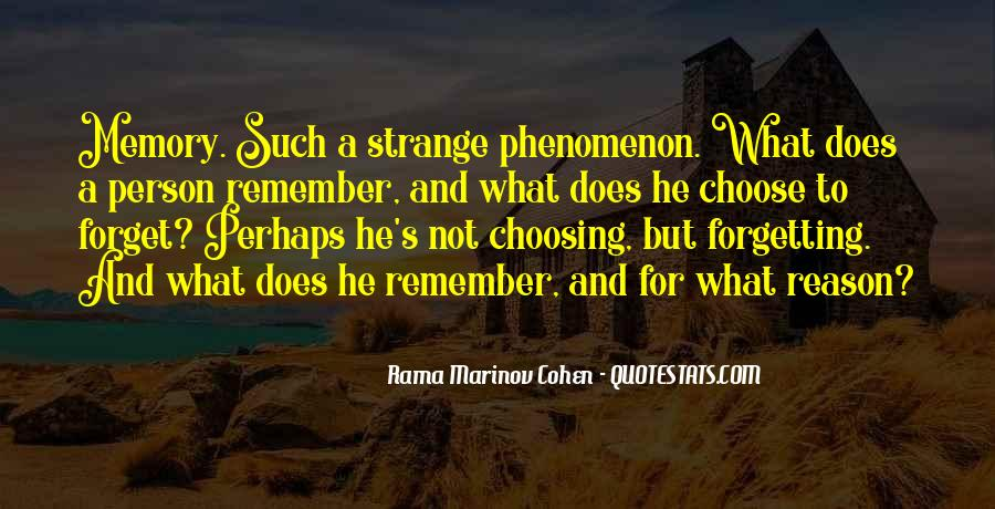 Forgetting's Quotes #127967