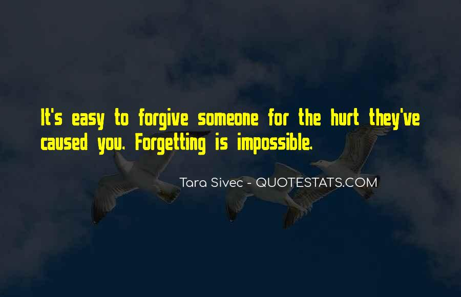 Forgetting's Quotes #151615