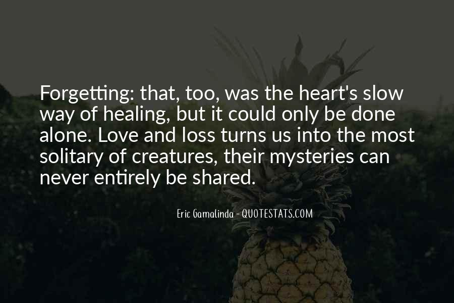 Forgetting's Quotes #20312