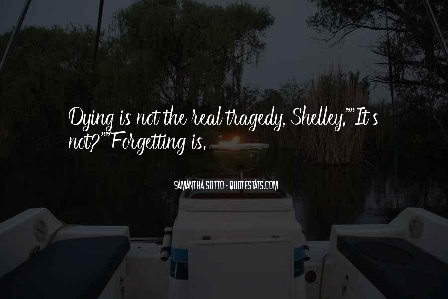 Forgetting's Quotes #226310