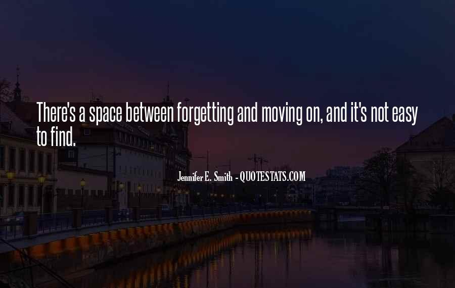 Forgetting's Quotes #247682