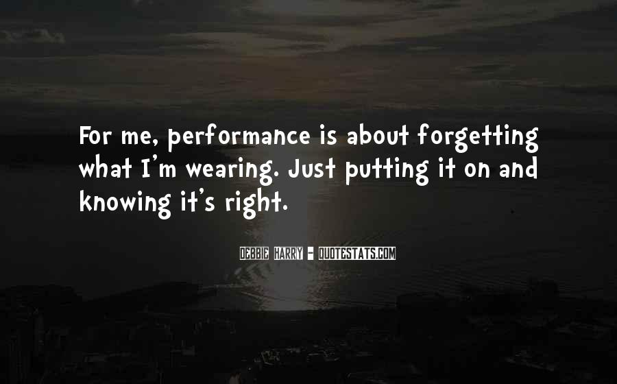 Forgetting's Quotes #373478