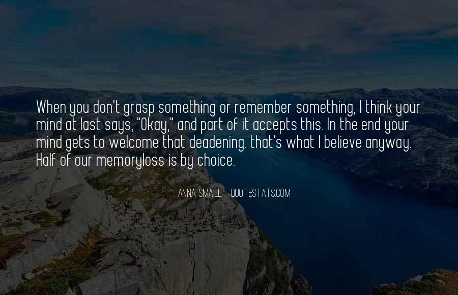 Forgetting's Quotes #631498