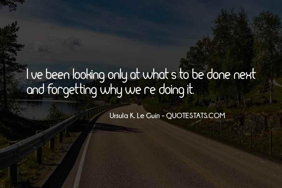 Forgetting's Quotes #65600