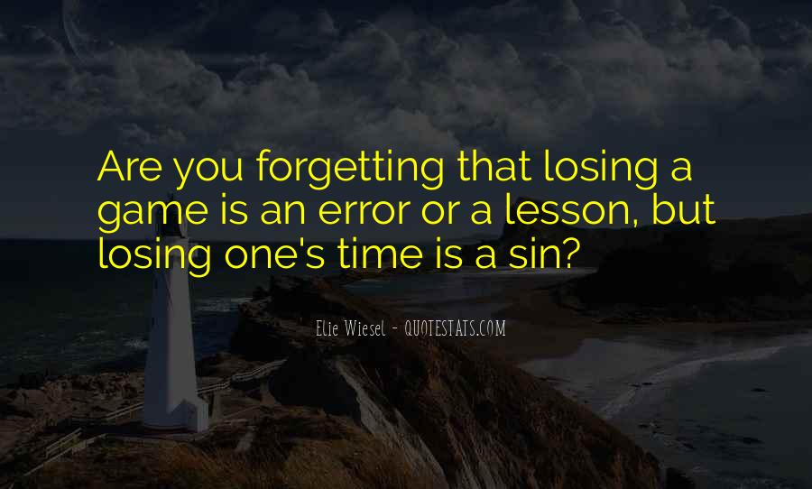 Forgetting's Quotes #736989