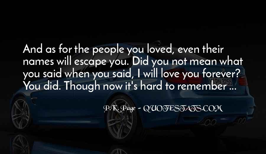 Forgetting's Quotes #773532