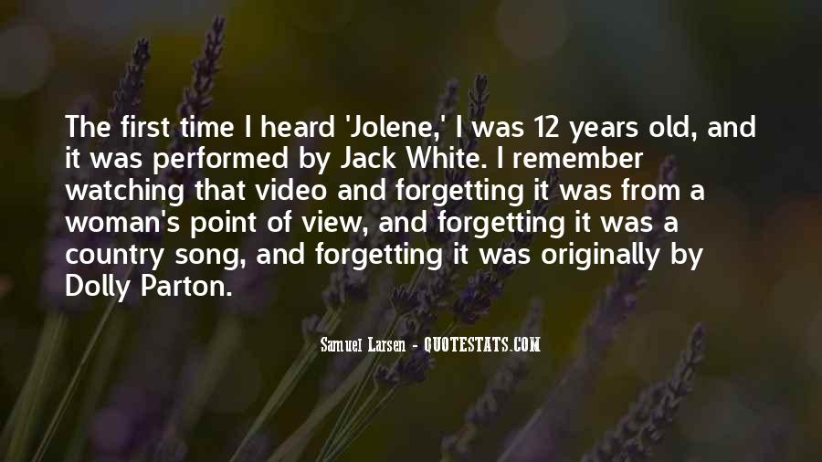 Forgetting's Quotes #810522