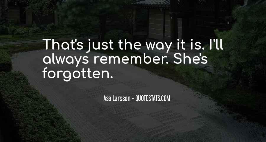 Forgetting's Quotes #840130