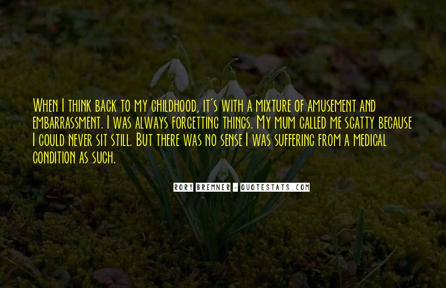 Forgetting's Quotes #894889