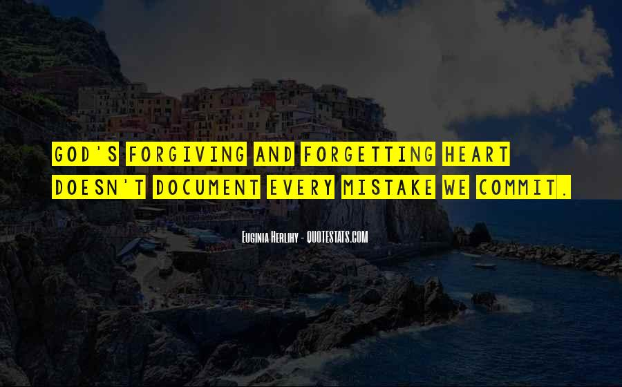 Forgetting's Quotes #902661