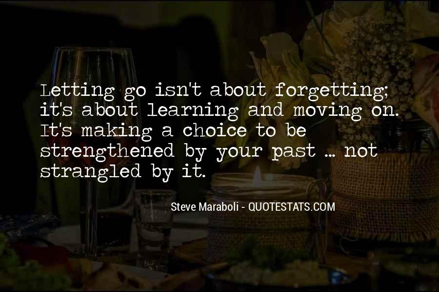 Forgetting's Quotes #90272