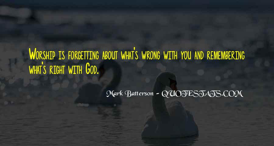 Forgetting's Quotes #927403