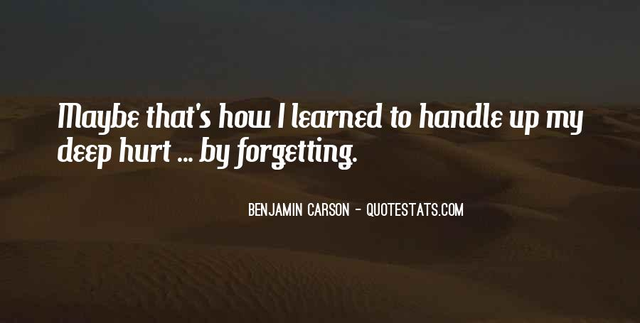 Forgetting's Quotes #984404