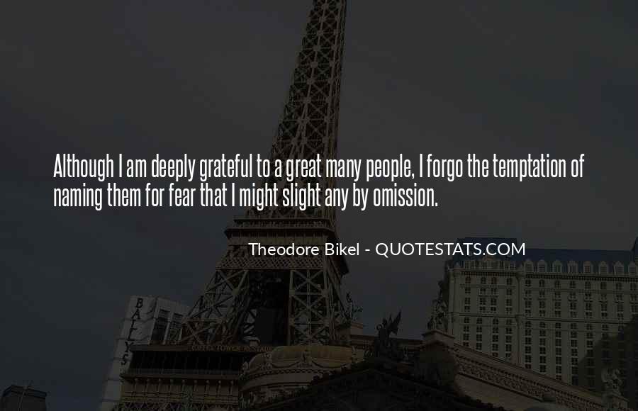 Forgo Quotes #1417999
