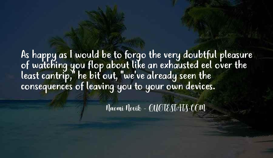 Forgo Quotes #993615