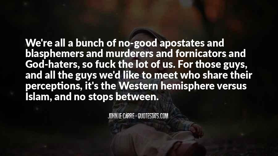 Fornicators Quotes #1769238