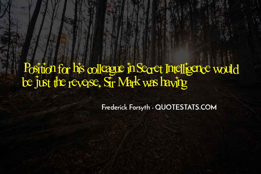 Forsyth's Quotes #190306
