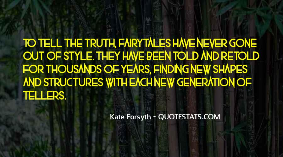Forsyth's Quotes #544394