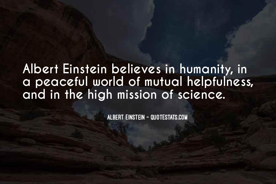 Quotes About Humanity And Science #520515