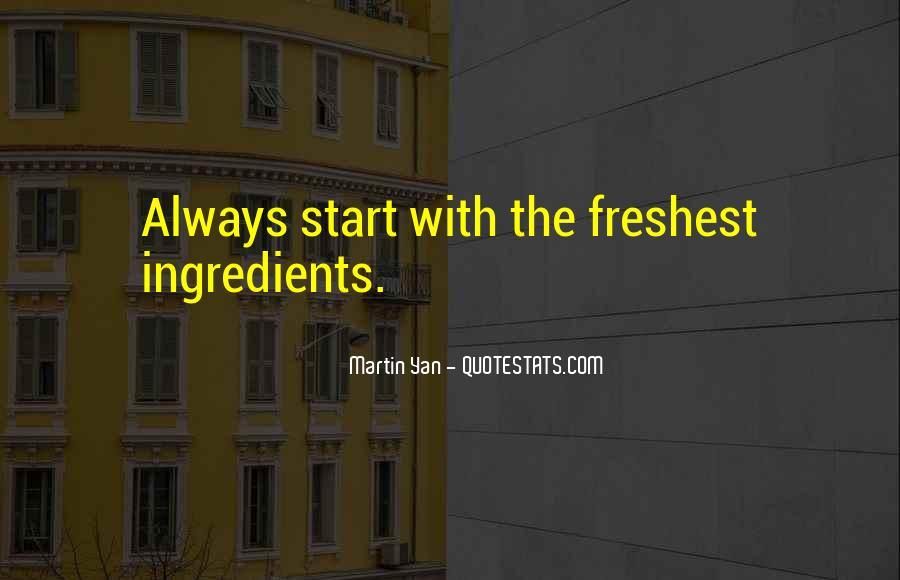 Freshest Quotes #706532