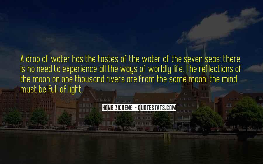 Quotes About Reflections In Water #611353