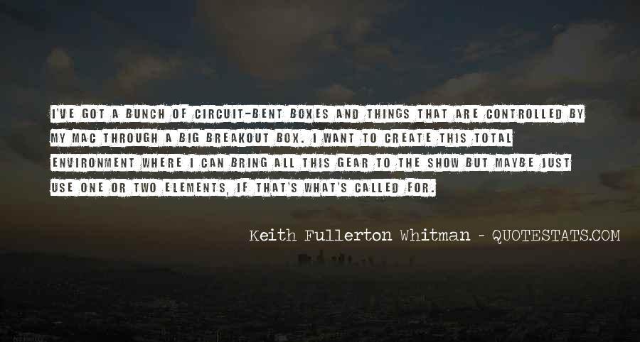 Fullerton Quotes #1391525