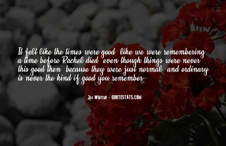 Quotes About Remembering Someone Died #972652