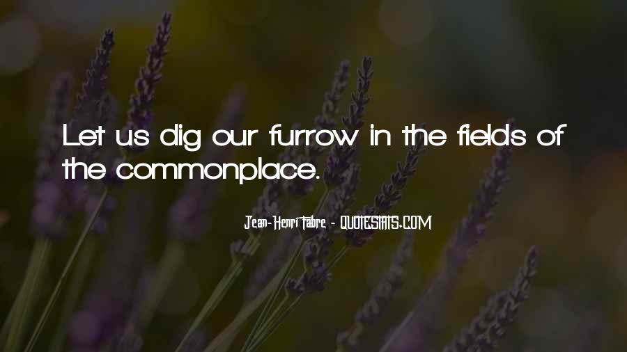 Furrow'd Quotes #1139800