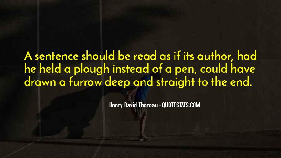 Furrow'd Quotes #1477297