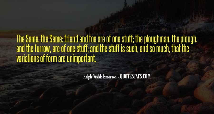 Furrow'd Quotes #462237