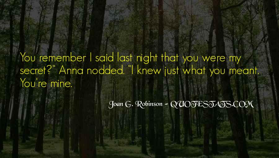 G'night Quotes #1421849