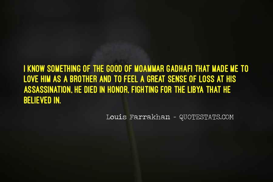Gadhafi Quotes #1649421