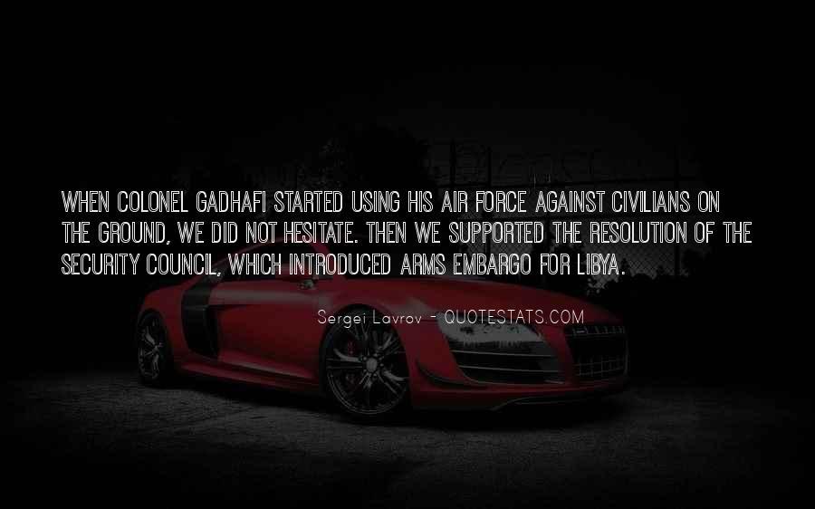 Gadhafi Quotes #283626