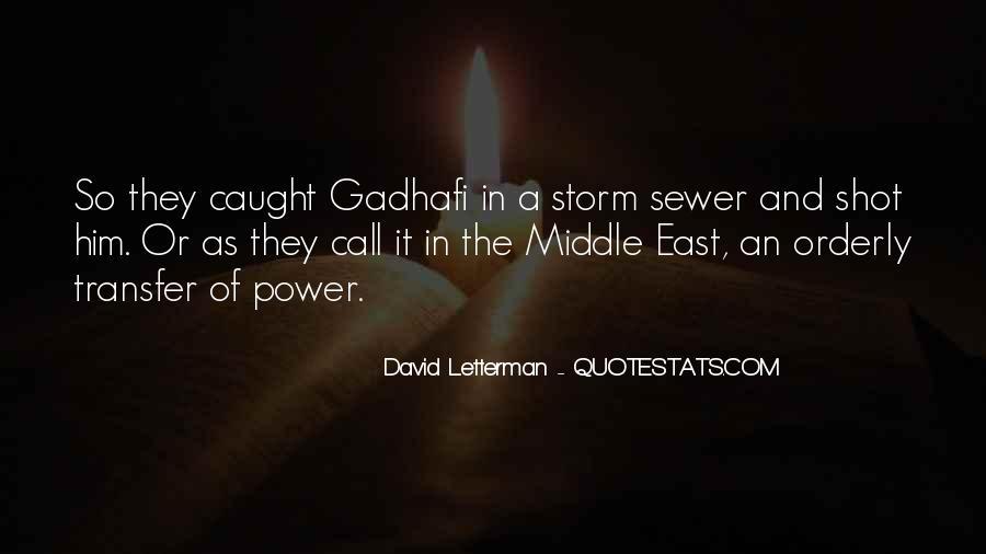 Gadhafi Quotes #62044