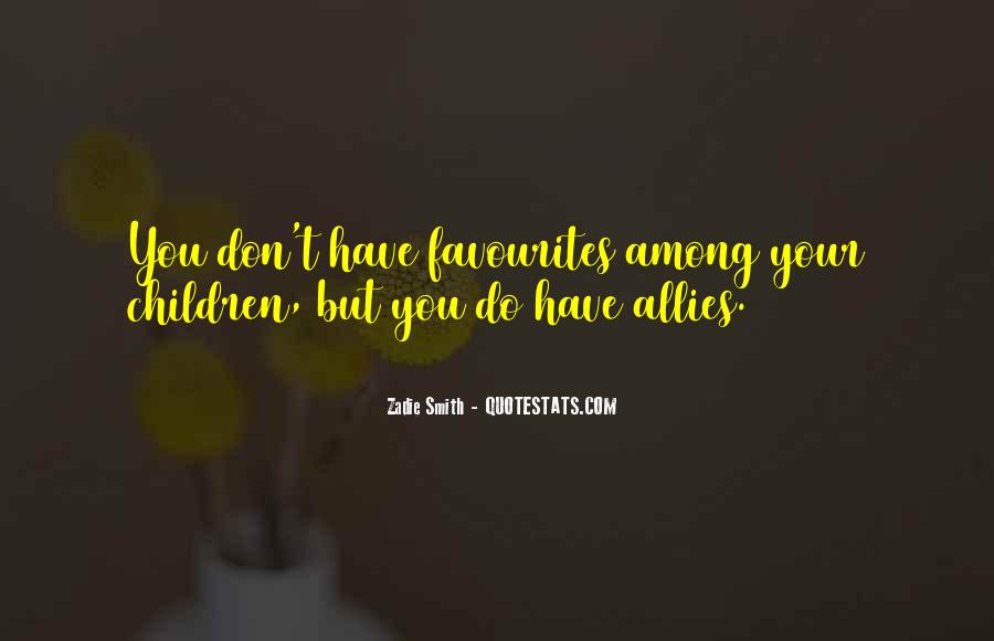 Quotes About Allies #210504