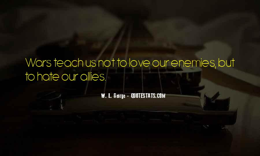Quotes About Allies #244166