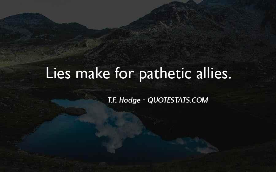 Quotes About Allies #366919
