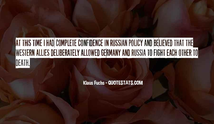Quotes About Allies #52867