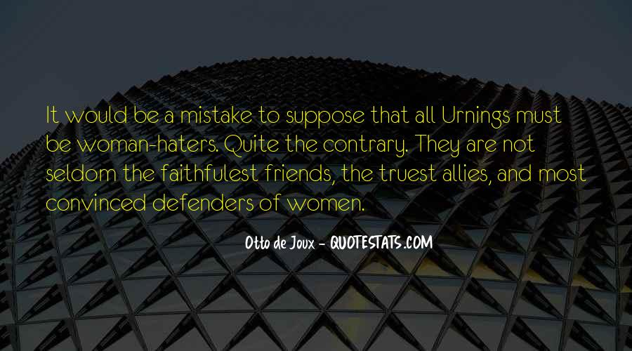 Quotes About Allies #68122