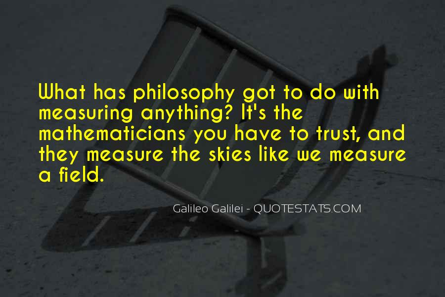 Galileo'a Quotes #1451771