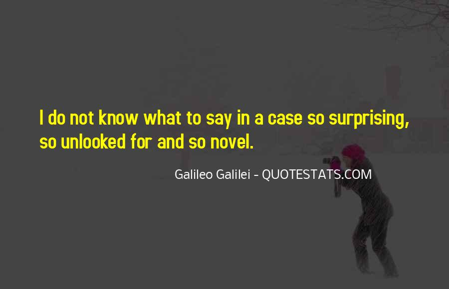 Galileo'a Quotes #1671399