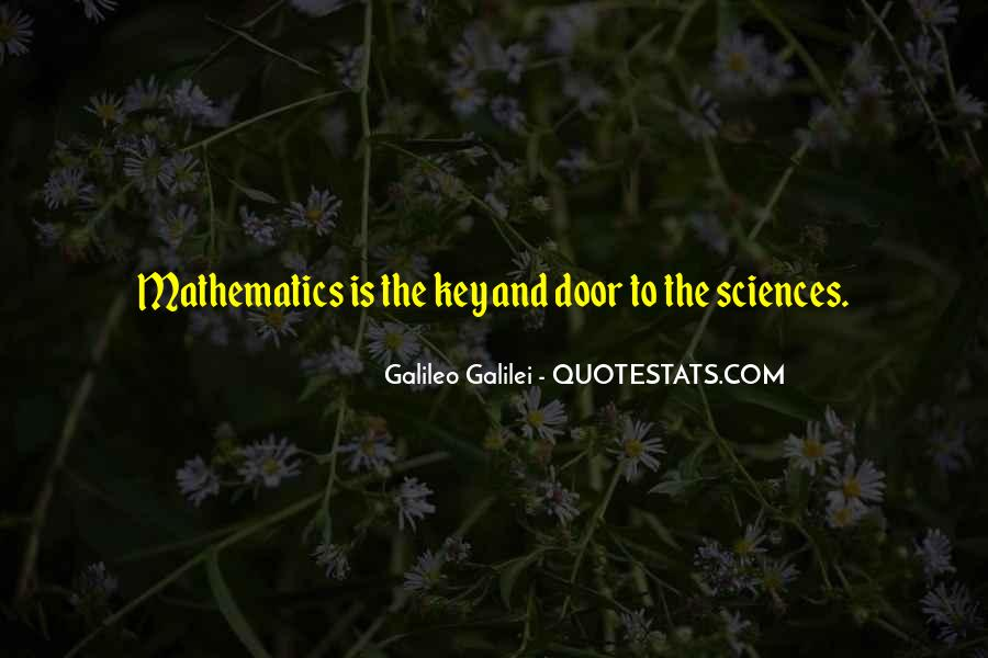 Galileo'a Quotes #273831