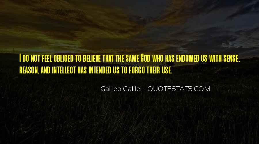 Galileo'a Quotes #47851