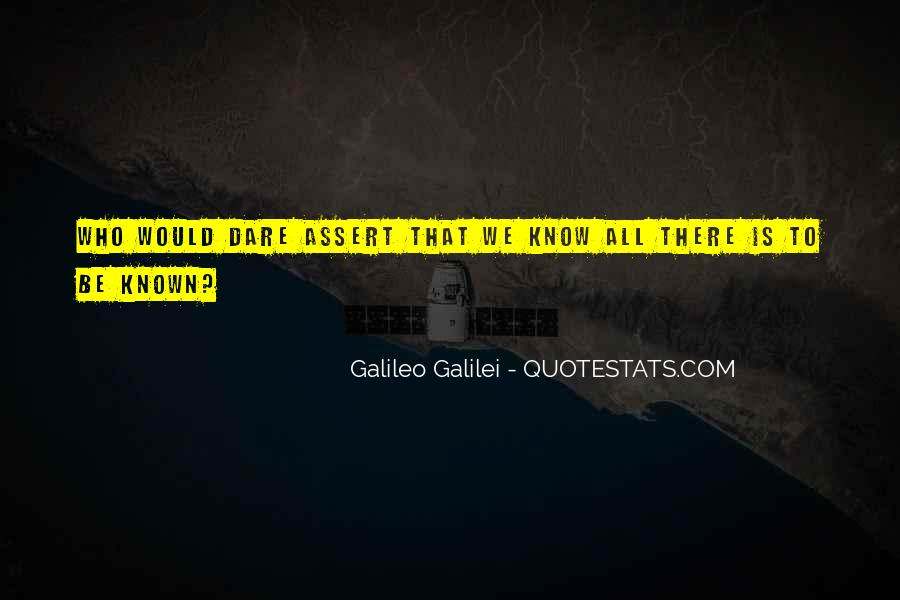Galileo'a Quotes #87561