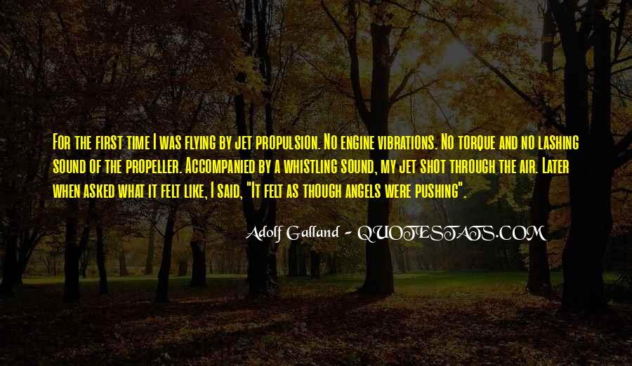 Galland's Quotes #1013499